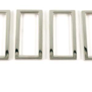 The Modern Sewist Flat Rings Nickel