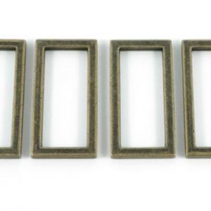 The Modern Sewist Flat Rings Antique Brass