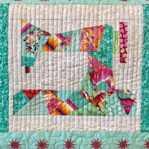 Sewing Machine Mini Quilt